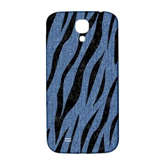 Skin3 Black Marble & Blue Denim (r) Samsung Galaxy S4 I9500/i9505  Hardshell Back Case by trendistuff