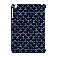 Scales3 Black Marble & Blue Denim Apple Ipad Mini Hardshell Case (compatible With Smart Cover) by trendistuff