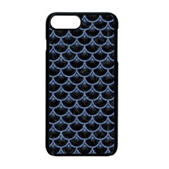 Scales3 Black Marble & Blue Denim Apple Iphone 7 Plus Seamless Case (black) by trendistuff