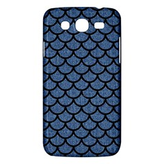 Scales1 Black Marble & Blue Denim (r) Samsung Galaxy Mega 5 8 I9152 Hardshell Case  by trendistuff