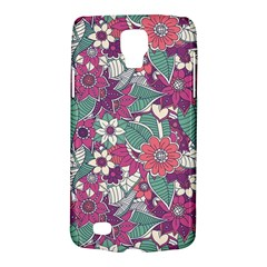 Seamless Floral Pattern Background Galaxy S4 Active by TastefulDesigns