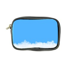 Blue Sky Clouds Day Coin Purse