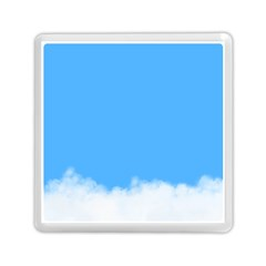 Blue Sky Clouds Day Memory Card Reader (square)