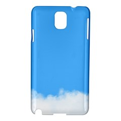 Blue Sky Clouds Day Samsung Galaxy Note 3 N9005 Hardshell Case by Simbadda