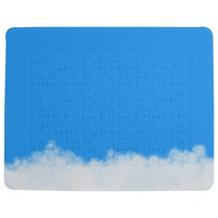 Blue Sky Clouds Day Jigsaw Puzzle Photo Stand (rectangular) by Simbadda
