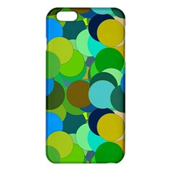 Green Aqua Teal Abstract Circles Iphone 6 Plus/6s Plus Tpu Case
