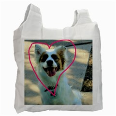I Love You Recycle Bag (two Side)  by CreatedByMeVictoriaB