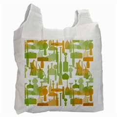 Angerine Blenko Glass Recycle Bag (one Side)