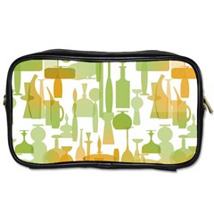 Angerine Blenko Glass Toiletries Bags 2 Side by Simbadda