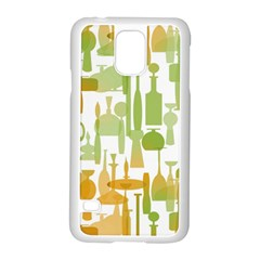 Angerine Blenko Glass Samsung Galaxy S5 Case (white)