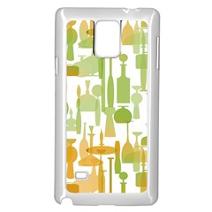 Angerine Blenko Glass Samsung Galaxy Note 4 Case (white) by Simbadda