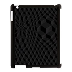 Pattern Dark Texture Background Apple Ipad 3/4 Case (black) by Simbadda