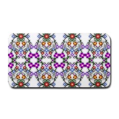 Floral Ornament Baby Girl Design Medium Bar Mats by Simbadda
