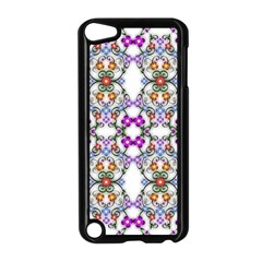 Floral Ornament Baby Girl Design Apple Ipod Touch 5 Case (black) by Simbadda