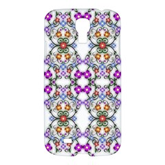 Floral Ornament Baby Girl Design Samsung Galaxy S4 I9500/i9505 Hardshell Case by Simbadda