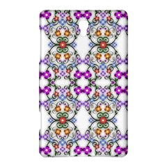 Floral Ornament Baby Girl Design Samsung Galaxy Tab S (8 4 ) Hardshell Case  by Simbadda