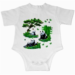 Cute Panda Cartoon Infant Creepers by Simbadda