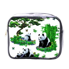Cute Panda Cartoon Mini Toiletries Bags by Simbadda