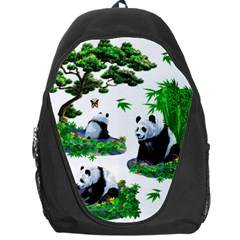 Cute Panda Cartoon Backpack Bag by Simbadda