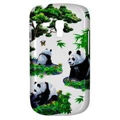 Cute Panda Cartoon Galaxy S3 Mini by Simbadda