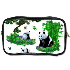Cute Panda Cartoon Toiletries Bags 2 Side by Simbadda