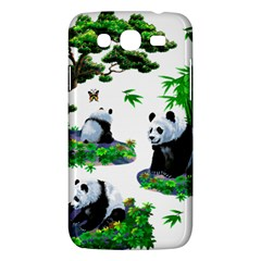 Cute Panda Cartoon Samsung Galaxy Mega 5 8 I9152 Hardshell Case  by Simbadda