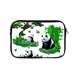 Cute Panda Cartoon Apple Macbook Pro 15  Zipper Case