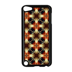 Kaleidoscope Image Background Apple Ipod Touch 5 Case (black) by Simbadda