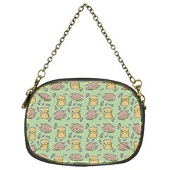 Cute Hamster Pattern Chain Purses (two Sides)  by Simbadda