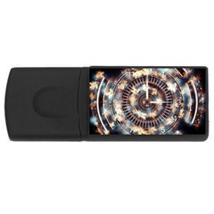 Science Fiction Background Fantasy Usb Flash Drive Rectangular (4 Gb)