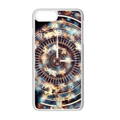 Science Fiction Background Fantasy Apple Iphone 7 Plus White Seamless Case by Simbadda