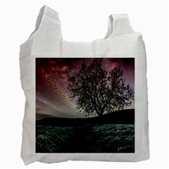 Sky Landscape Nature Clouds Recycle Bag (one Side) by Simbadda