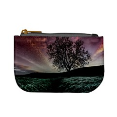 Sky Landscape Nature Clouds Mini Coin Purses by Simbadda
