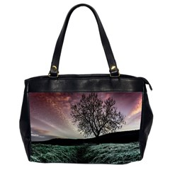 Sky Landscape Nature Clouds Office Handbags (2 Sides)  by Simbadda