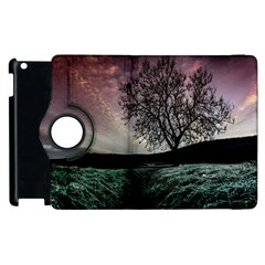 Sky Landscape Nature Clouds Apple Ipad 3/4 Flip 360 Case by Simbadda
