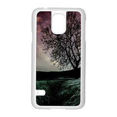 Sky Landscape Nature Clouds Samsung Galaxy S5 Case (white) by Simbadda