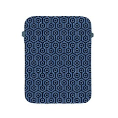 Hexagon1 Black Marble & Blue Denim (r) Apple Ipad 2/3/4 Protective Soft Case by trendistuff