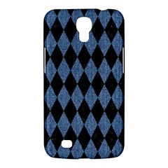 Diamond1 Black Marble & Blue Denim Samsung Galaxy Mega 6 3  I9200 Hardshell Case by trendistuff
