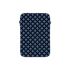 Circles3 Black Marble & Blue Denim (r) Apple Ipad Mini Protective Soft Case by trendistuff