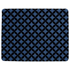 Circles3 Black Marble & Blue Denim (r) Jigsaw Puzzle Photo Stand (rectangular) by trendistuff