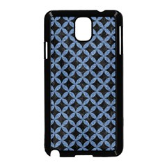 Circles3 Black Marble & Blue Denim Samsung Galaxy Note 3 Neo Hardshell Case (black) by trendistuff