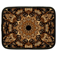 3d Fractal Art Netbook Case (xl)