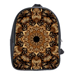 3d Fractal Art School Bags(large)