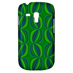 Blue Green Ethnic Print Pattern Galaxy S3 Mini by CrypticFragmentsColors
