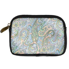 Paisley Boho Hippie Retro Fashion Print Pattern  Digital Camera Cases by CrypticFragmentsColors