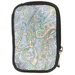Paisley Boho Hippie Retro Fashion Print Pattern  Compact Camera Cases by CrypticFragmentsColors