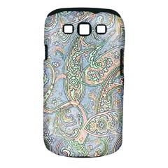 Paisley Boho Hippie Retro Fashion Print Pattern  Samsung Galaxy S Iii Classic Hardshell Case (pc+silicone) by CrypticFragmentsColors