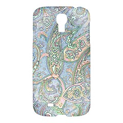 Paisley Boho Hippie Retro Fashion Print Pattern  Samsung Galaxy S4 I9500/i9505 Hardshell Case by CrypticFragmentsColors