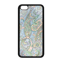 Paisley Boho Hippie Retro Fashion Print Pattern  Apple Iphone 5c Seamless Case (black) by CrypticFragmentsColors