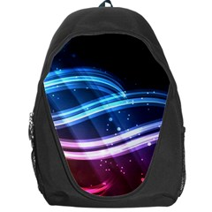 Illustrations Color Purple Blue Circle Space Backpack Bag